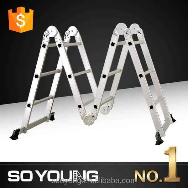 Gs yongkang aluminio multiusos escalera, Plegadora escalera, Spa de natación escalera