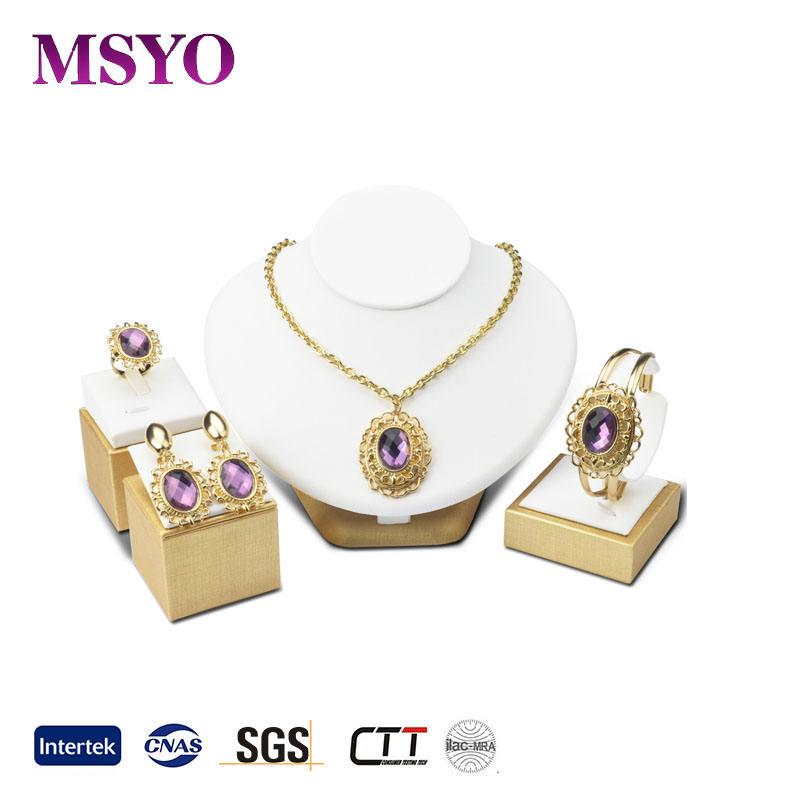 MSYO бренд золотые ювелирные украшения из золота набор