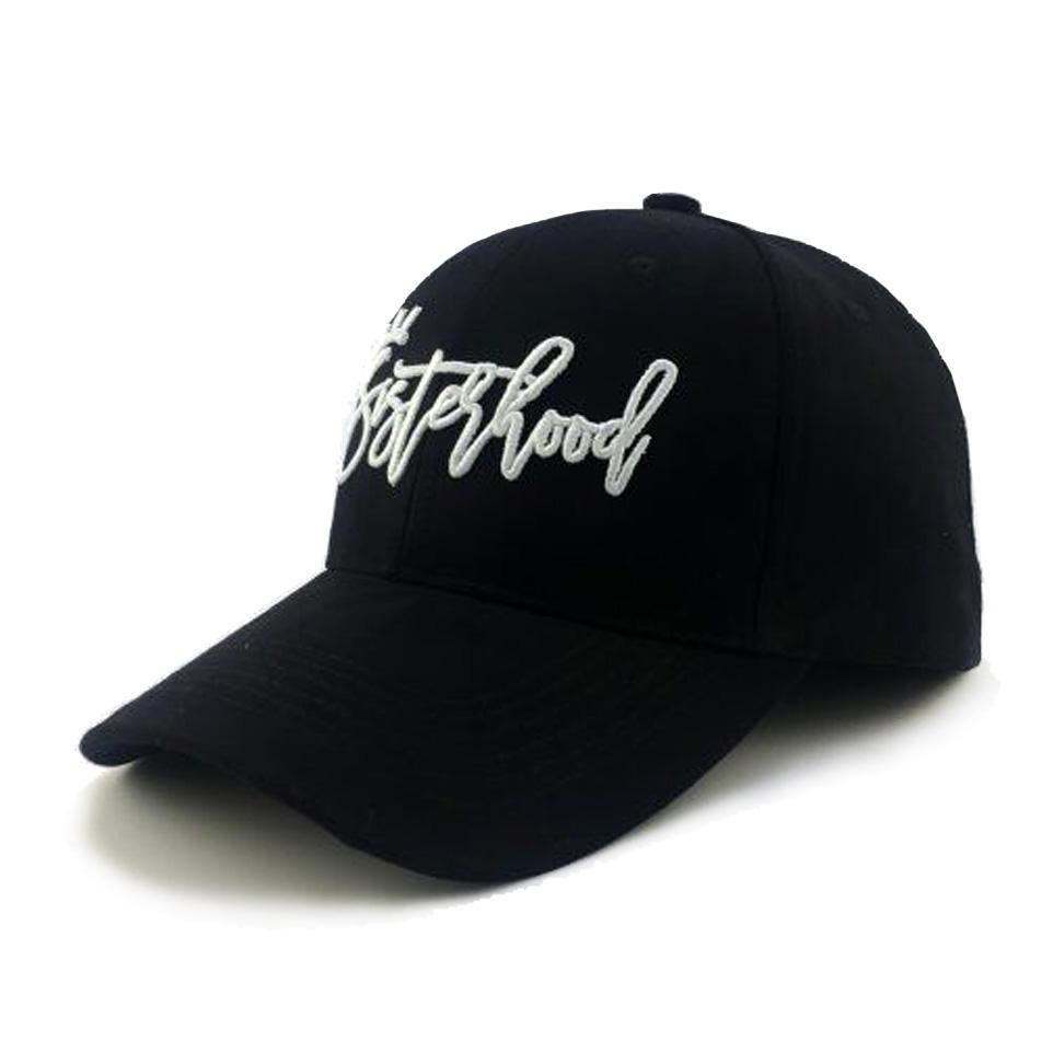 블랙 컬러 Flexfit 모자 사용자 정의 장착 모자