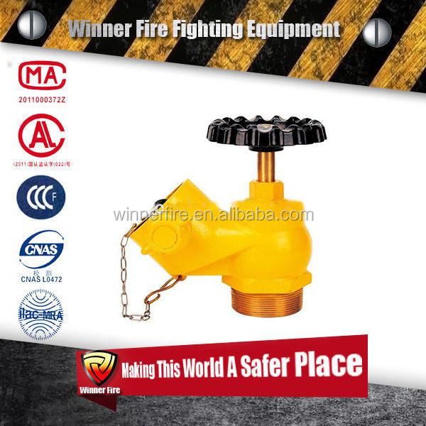 Понижения давления Пожарный Гидрант посадки клапаны для воды шланг