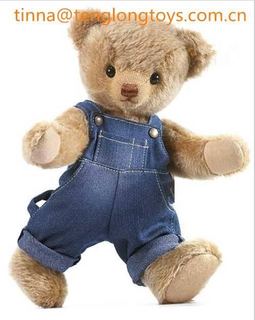 oemのテディーベアぬいぐるみぬいぐるみテディベアソフトクマのおもちゃのジーンズ