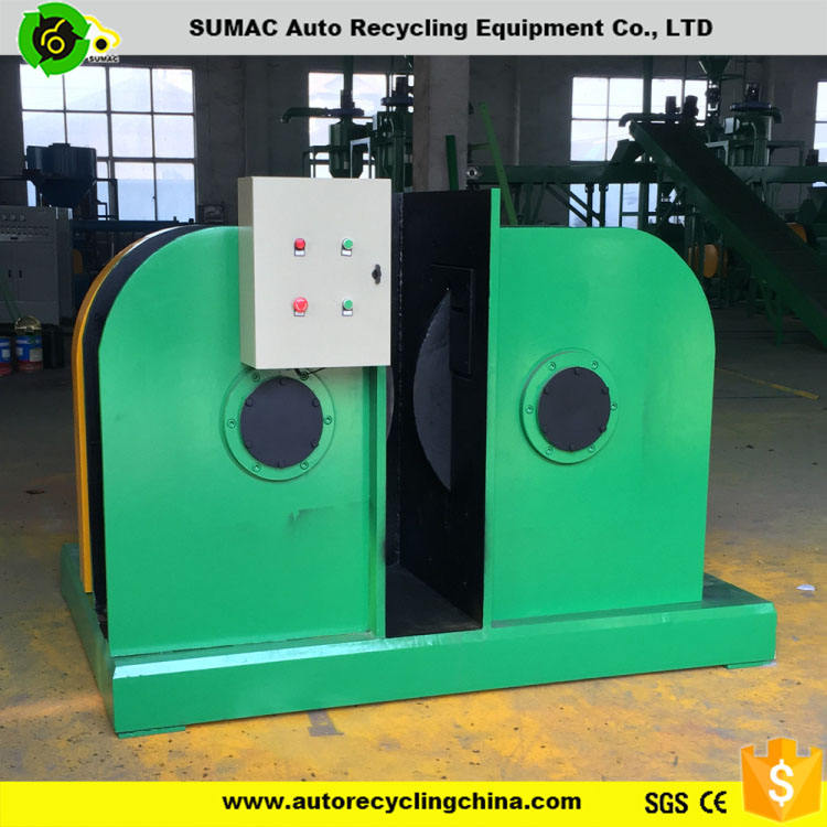 Baixo preço para venda Usado Máquina de Reciclagem de Resíduos de Borracha De <span class=keywords><strong>Pneu</strong></span> Debeader <span class=keywords><strong>Fio</strong></span>
