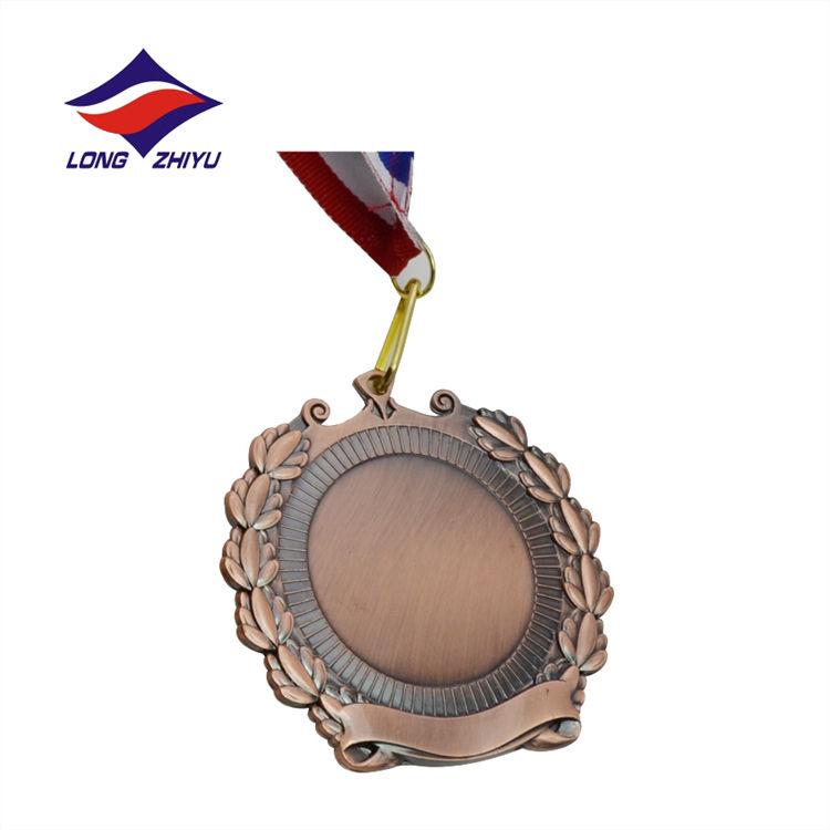 Entrega rápida Barato <span class=keywords><strong>Metal</strong></span> Medalha de Esportes Em Branco Inserir Atividade
