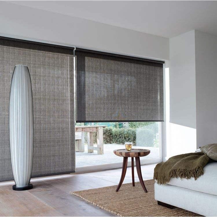 Cortinas de la cocina de las cortinas de la cocina de las cortinas ciegas al por mayor de la operación simple