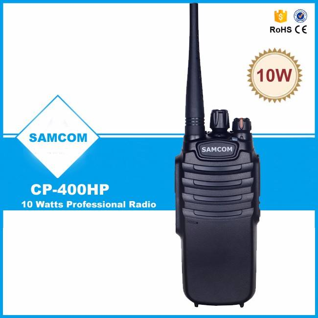 SAMCOM CP-400HP 10 w Walkie Talkie TK3400 completo compatible con kenwood walkie talkie