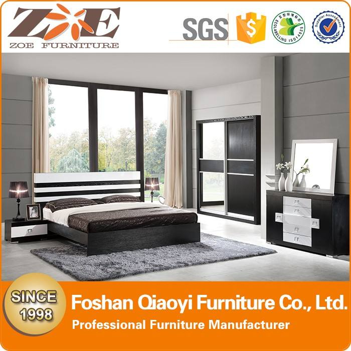 China moderna últimos diseños de cama de madera/nuevas imágenes de cama doble de madera/home barato diseños cama doble en madera