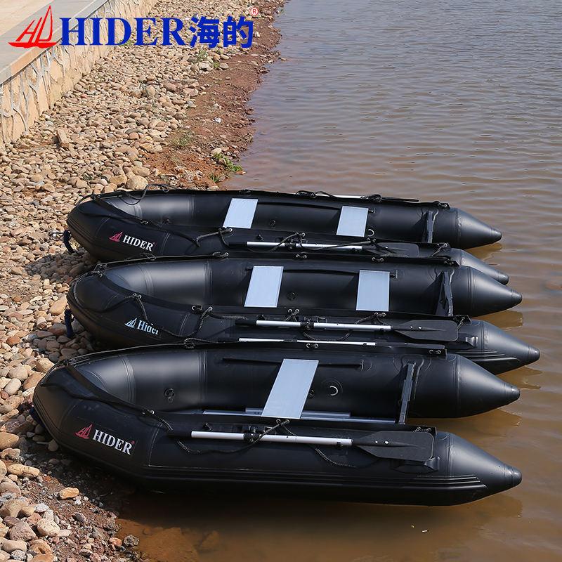 China atacado costela hypalon barco inflável com equipamentos de barco para barco inflável