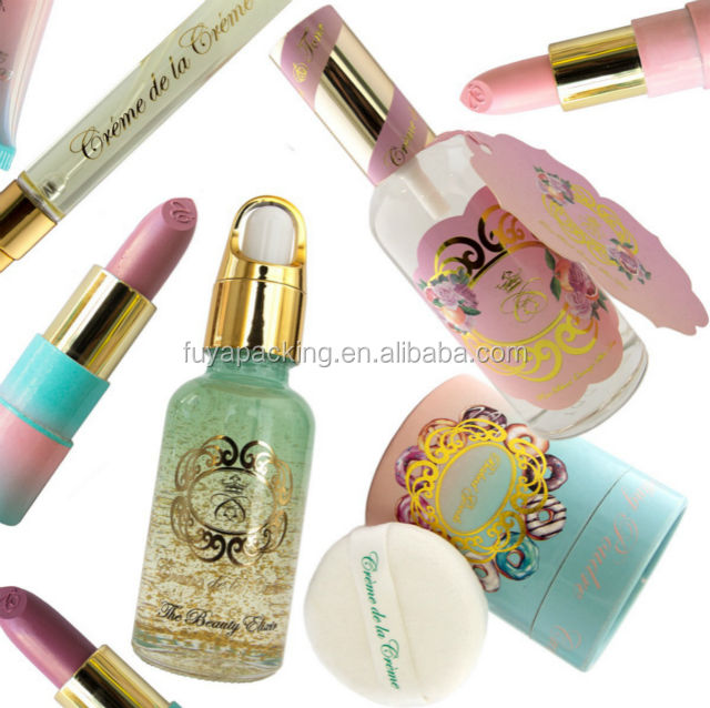 Customized Design Screen Printing private roll label Perfume Label stickers private eyelashes label