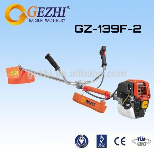 Agrícola motoguadañas 1.17hp 33.5cc manual profesional cortador de cepillo de un rendimiento excepcional 139f-2