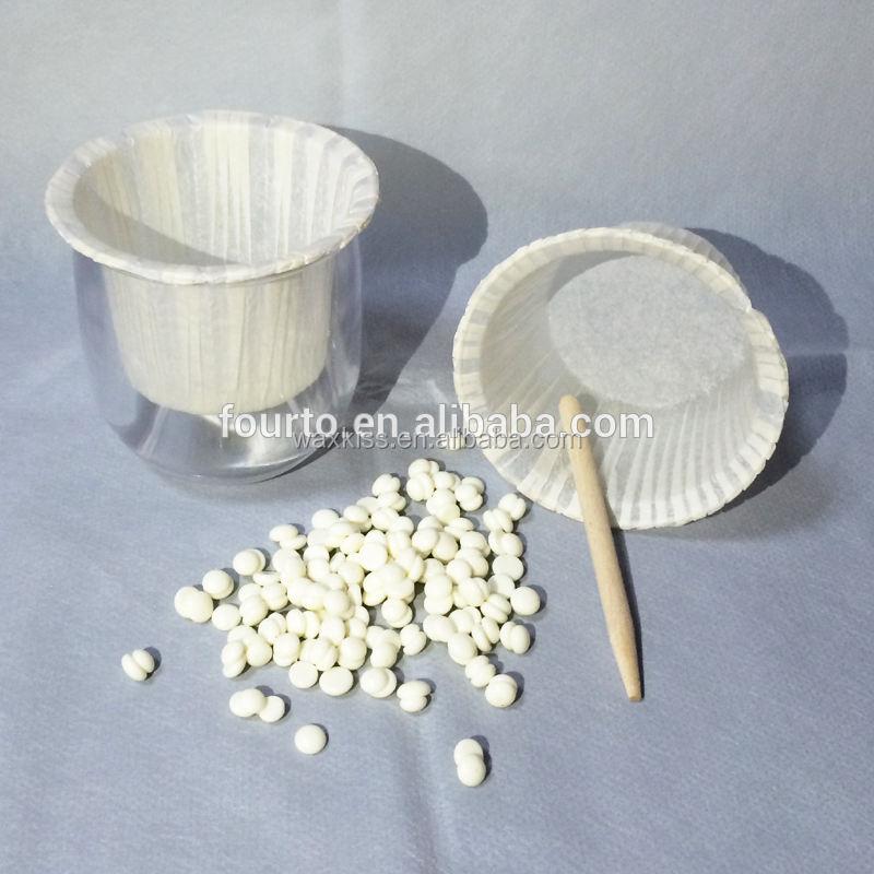 Recién llegado! perlas de cera kit para removal nose hair en salón de belleza
