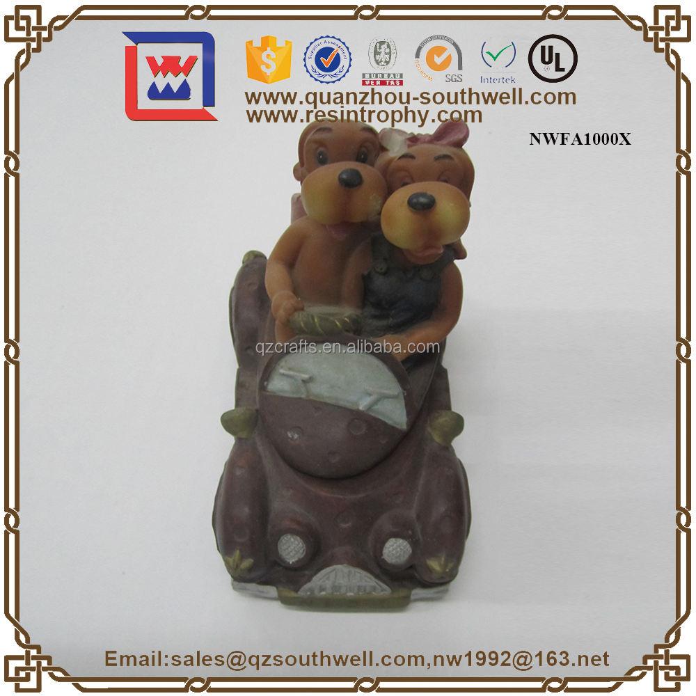 Plástico de Dibujos Animados 3D Animal Estatuilla Personaje de Dibujos Animados Figura Handcraft