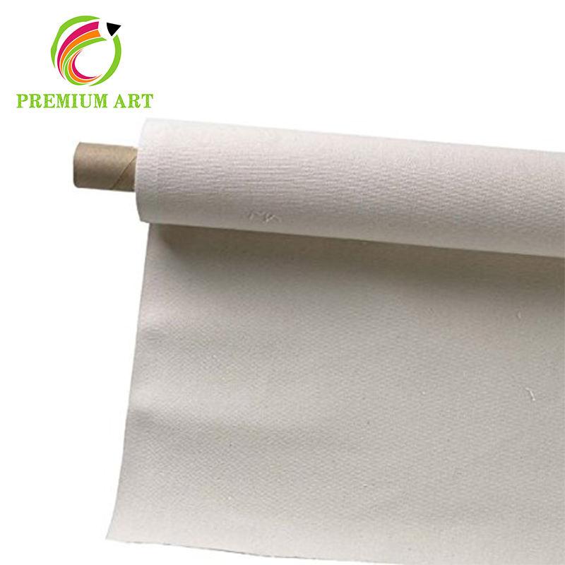 Высокое качество загрунтовать нештрихованных linen roll up Холст