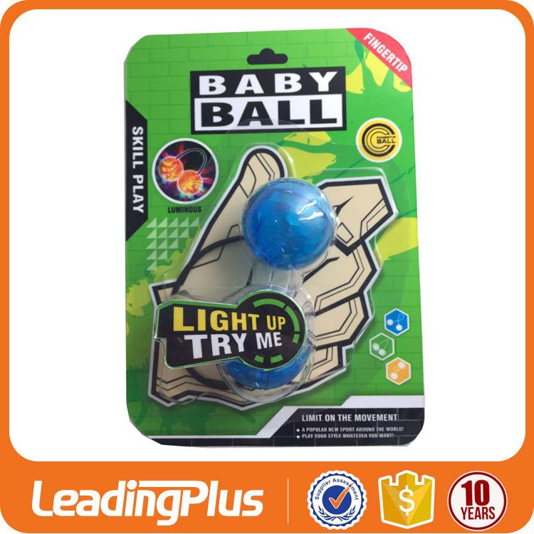 Оптовая Непоседа Spinner игрушка Thumb Патроны с ночным светом Анти Стресс Yoyo