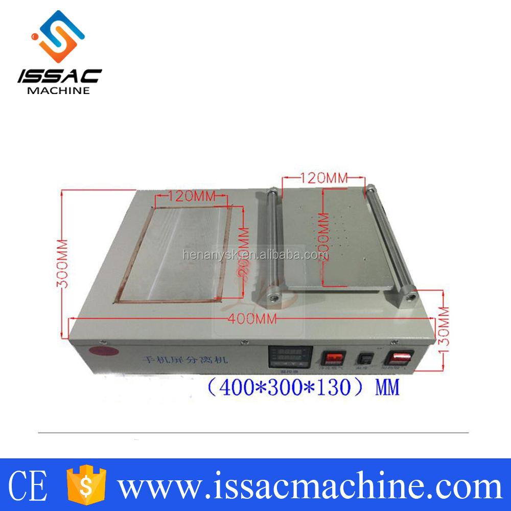 IS-LY-FS-07 мобильный экран крепления оборудования тепла/Замороженные сплит-экран сепаратор машина с без масла вакуумного насоса