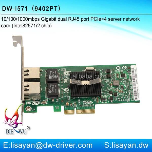 Laptop pcie gigabit-netzwerkkarte mit Intel 82571EB chip