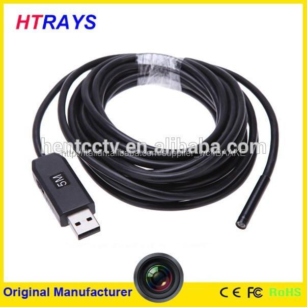 Hd 6 led lente 5m 5,5mm usb fotocamera endoscopio 1300000 <span class=keywords><strong>pixel</strong></span> usb fotocamera ispezione strumento diagnostico