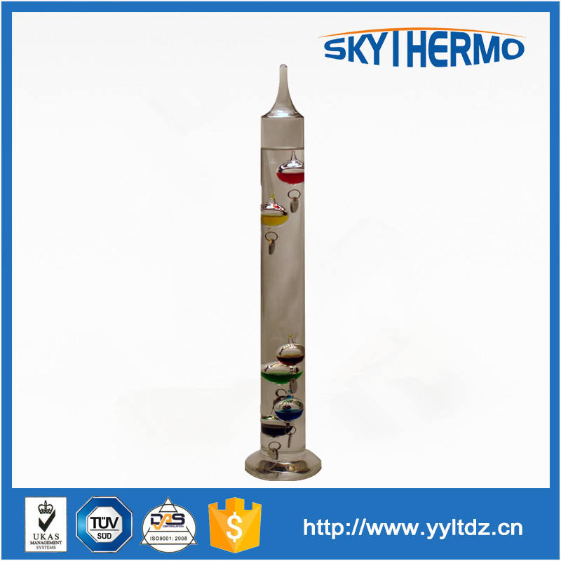 iç dekorasyon renkli <span class=keywords><strong>hava</strong></span> termometresi ev veya ofis dekoratif galileo cam termometre