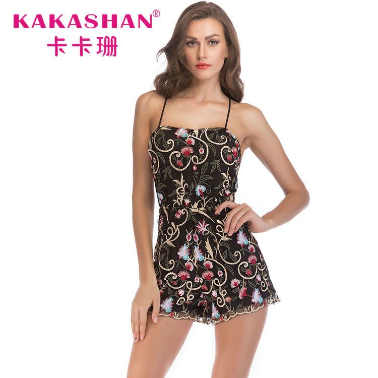 <span class=keywords><strong>Fiesta</strong></span> negro Mini Sexy japonés correa <span class=keywords><strong>de</strong></span> espagueti lentejuelas vestidos