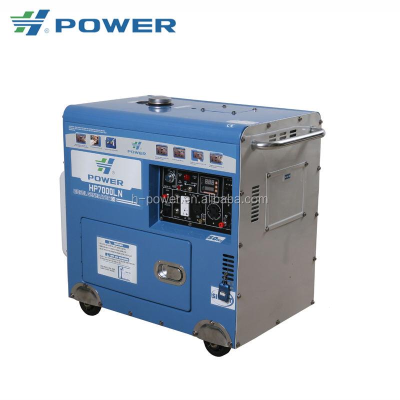 Pour votre sélection petit refroidi à l'eau diesel <span class=keywords><strong>générateur</strong></span> de puissance HP7000LN