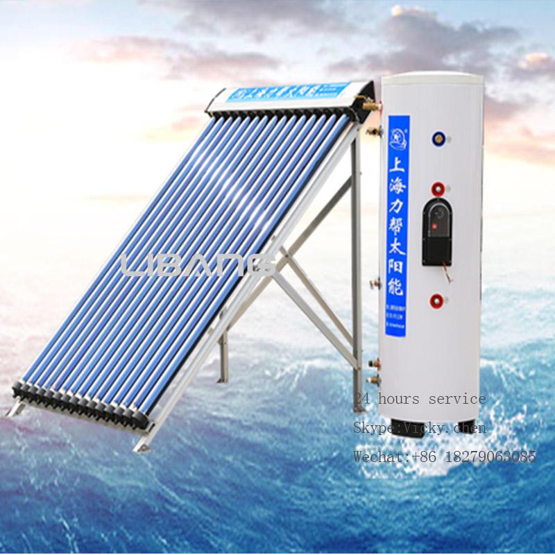 インスタントシャワー水ヒーターによって太陽熱温水ヒーター