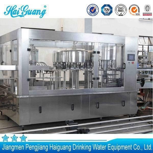 chất lượng tốt nhà máy sản xuất cacbonat tự động thiết bị làm đầy nước