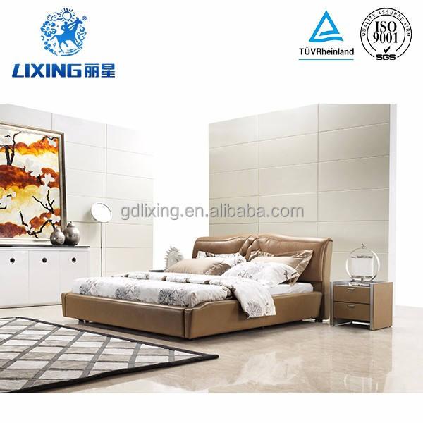 Tipo de Muebles de dormitorio y Cama Casa Uso Específico UK Cama De Cuero De Imitación