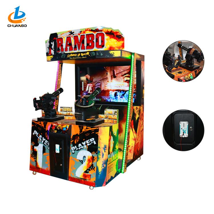 رامبو جدا اطلاق النار عملة تعمل محاكي ألعاب الرماية ماكينة مقاعد ألعاب المحاكاة ل مراكز تسلية