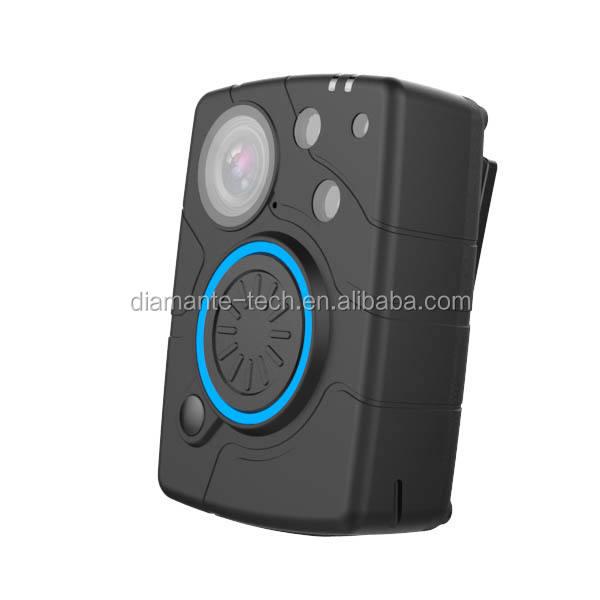 Wifi intégré 2080 P <span class=keywords><strong>sécurité</strong></span> garde corps caméra portée avec auto LED infrarouge et big bouton d'enregistrement