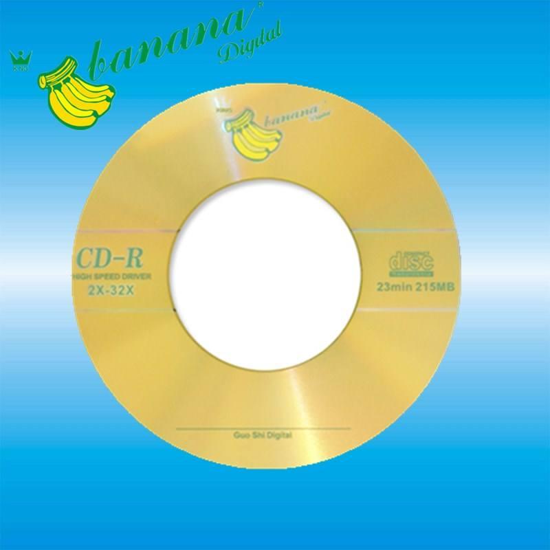 Mini coche R cd y dvd R 215 MB disco en blanco
