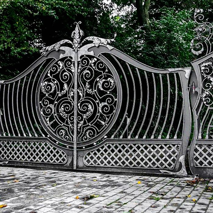 Low Price Guaranteed Quality Iron Main Gate Designs For Homes
