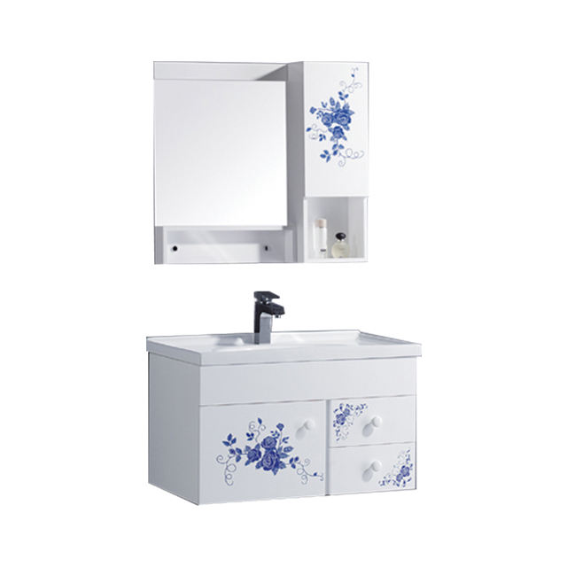 고급스러운 크라운 시리즈 나무 욕실 세면대 캐비닛