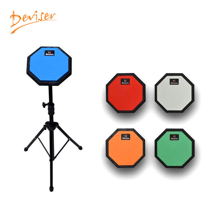 Fábrica 8 pulgadas práctica tambor almohadillas