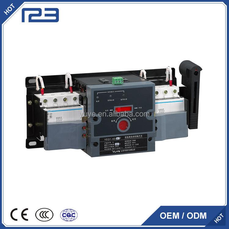 YEQ1series CB classe MCB X, Y type double-pouvoir ATS