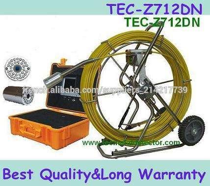 Big caméra <span class=keywords><strong>de</strong></span> tuyaux Equipement <span class=keywords><strong>de</strong></span> <span class=keywords><strong>sécurité</strong></span> Pipe Inspection CCTV TEC- Z710DN