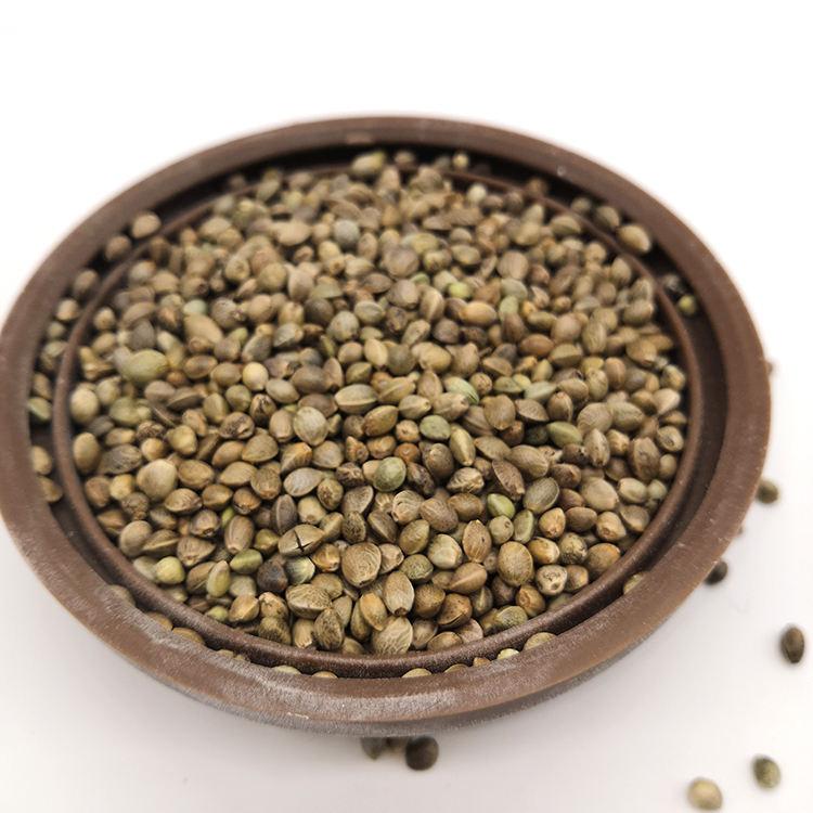 Bitki sağlığı Sertifikalı Organik Hulled Kenevir Tohumu Kuş Yemi için