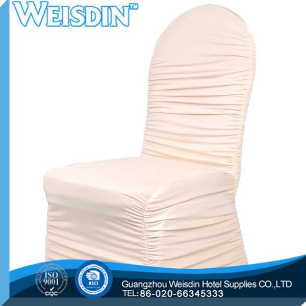 Hecho en china 100% algodón equipado silla de comedor cubre