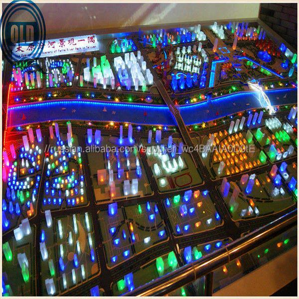 Архитектурный план масштаб макета модель производитель / городской парк планирование модель / миниатюра город план модель