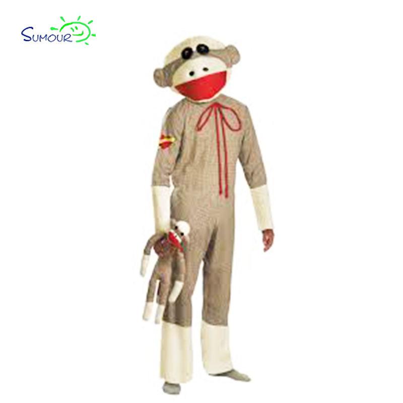 Al por mayor caliente y encantadora mono adulto grasa traje inflable de los animales