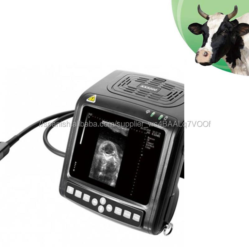Escáner de ultrasonido de muñeca veterinario con sonda rectal lineal para animales grandes KX5200