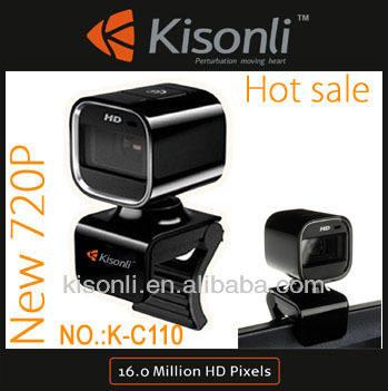 720p веб-камера с ультра- четкое изображение& микрофон