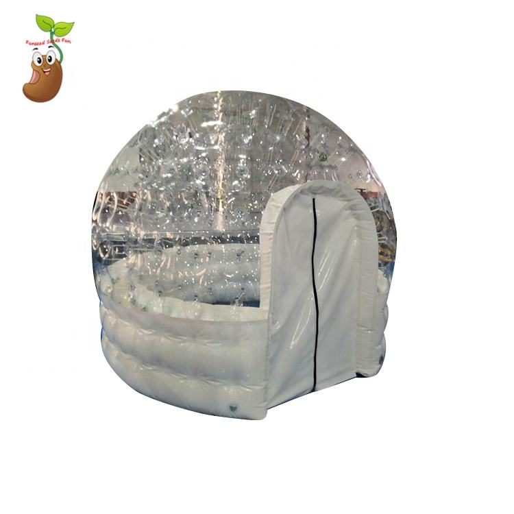 White inflatable tent low price hot tub spa dome tent for outdoor