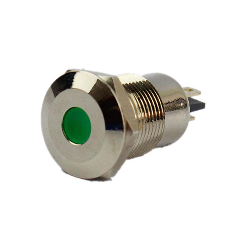 Dia.10mm <span class=keywords><strong>haboo</strong></span> indicador LED luz impermeable IP65 tipo mini señal Indicador 6 V 12 V 24 V 110 V 220 V