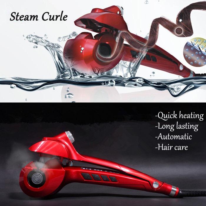 Stylish curling hair với chức năng hơi nước automaitc tóc curler