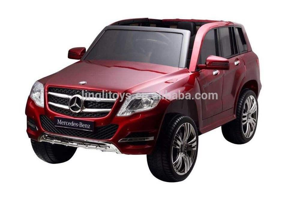 ребенок ездить на автомобилей лицензию <span class=keywords><strong>Mercedes</strong></span> Benz GLK 300 электрический езды на автомобиле 12 В с дистанционным управлением