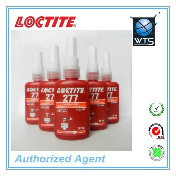 50 ml e 250 ml vermelho alta strenth anaeróbico threadlocker adesivo Loctite 277