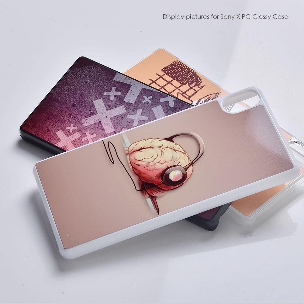 2017 khuyến mãi Cho Cứng PC <span class=keywords><strong>2D</strong></span> thiết kế dễ thương điện thoại di động trường hợp cho Sony X với thiết kế khác nhau