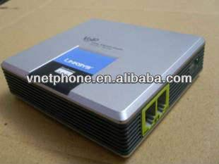 Linksys の VOIP アダプター SPA3000