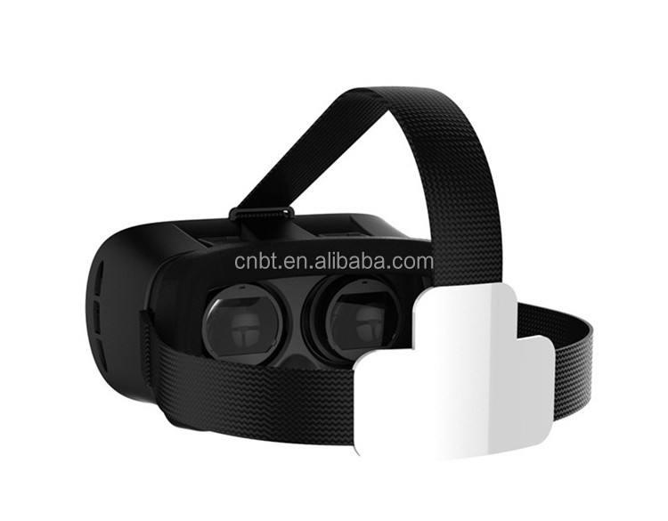 VR 3D Gafas Gafas de Realidad Virtual de Vídeo Universal Controlador Libre Para Smartphone