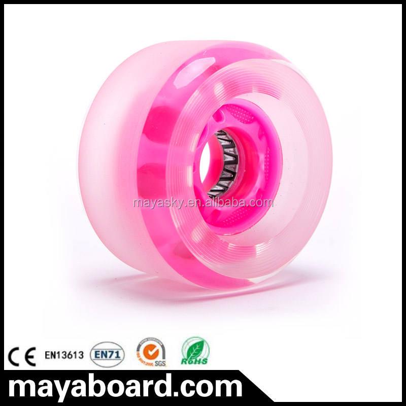 Hot Vier-rad licht rad für Mini Longboard Skateboard für verkauf in China