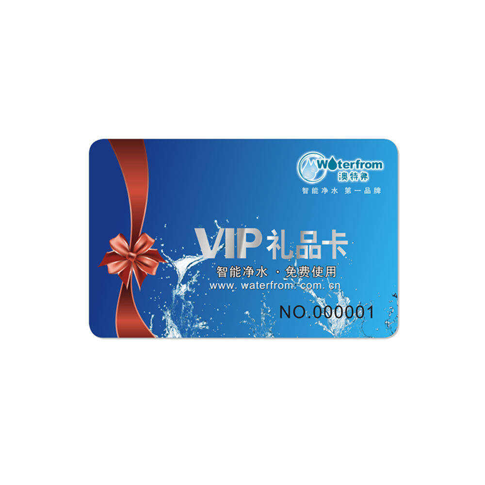 Formato Standard stampa a colori ad alta definizione specchio di plastica biglietto da visita